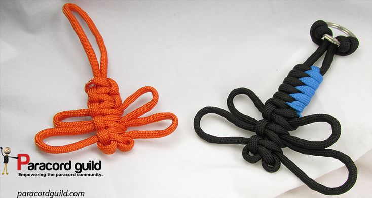 How to make a paracord dragonfly paracord projects for Paracord stuff to make