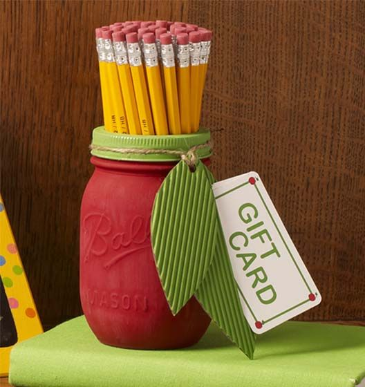 Craft Painting - DIY Mason Jar for Teacher Appreciation
