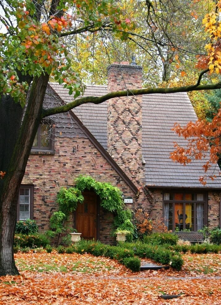 Gorgeous brick home in woods