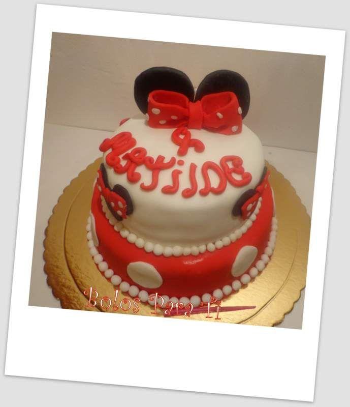 Bolo Minnie www.bolosparati.com https://www.facebook.com/pages/Bolos-para-Ti/489407764471826?fref=ts