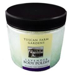 Lavender Body Polish from Tuscan Farm Gardens in Abbotsford, BC. $16.00 www.tuscanfarmgardens.com