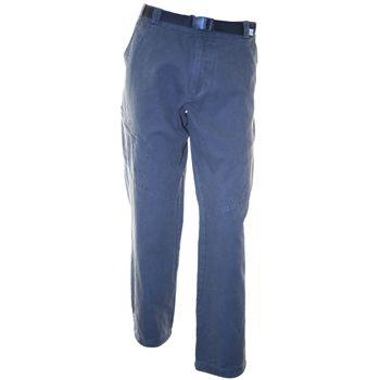 Pantalon de Hombre SR-8050 Pantalón confeccionado en tela gabardina, prelavado, con cinturón en cintura. Posee dos bolsillos en el frente, uno lateral con cierre y dos traseros con cierre. Tiene ajuste con cordón elástico y tancas en botamanga.