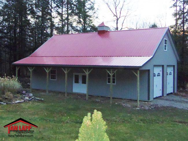 122 best pole barn living images on pinterest