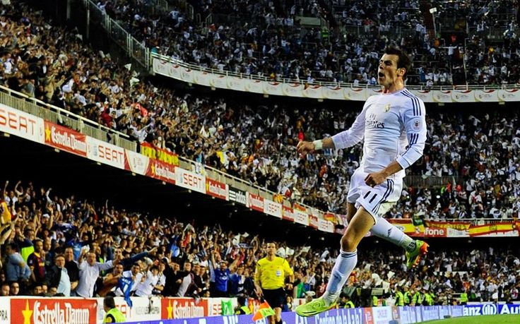 April 16th, 2014 / #The_GUARDIAN_UK / Gareth Bale's goal hailed as 'incredible' after Real Madrid win Copa del Rey final against Barcelona: Xabi Alonso says he has 'never seen anything like it' and Carlo Ancelotti praises Gareth Bale after his stunning winning goal at the Mestalla in Valencia  http://www.telegraph.co.uk/sport/football/players/gareth-bale/10771820/Gareth-Bales-goal-hailed-as-incredible-after-Real-Madrid-win-Copa-del-Rey-final-against-Barcelona.html