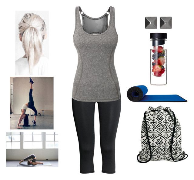 """Yoga"" by teodoramaria98 ❤ liked on Polyvore featuring H&M, LE3NO, Witchery, John Lewis and Pieces"