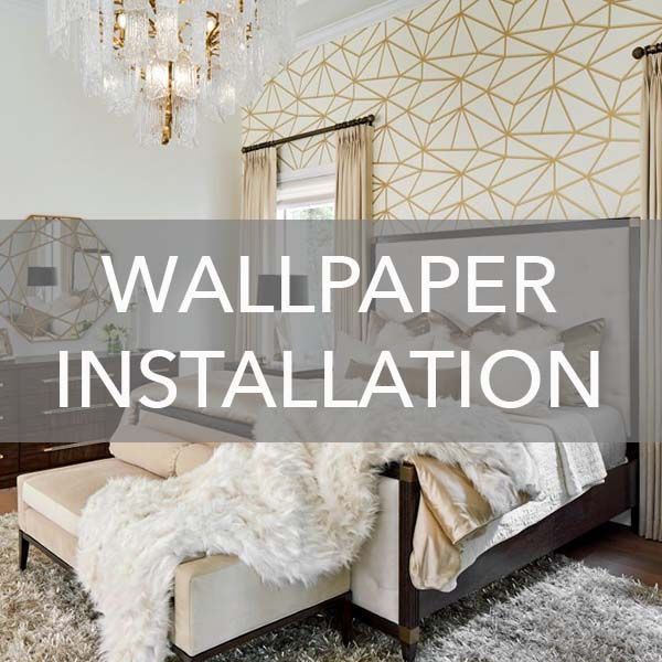 Want To Know What The Cost Is To Hang Wallpaper In Your Home Our Professional Wallpaper Installers S How To Install Wallpaper Headboard Wall Large Living Room