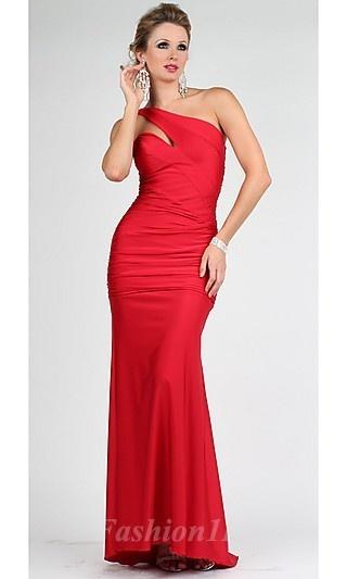 Sheath Satin Asymmetric Long Dress fashion00527
