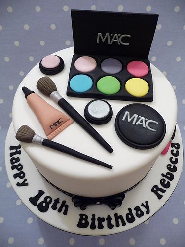 Make one special photo charms for your pets, 100% compatible with your Pandora bracelets. Mac Makeup Cake 18th Birthday For A Young Lady Who Loves