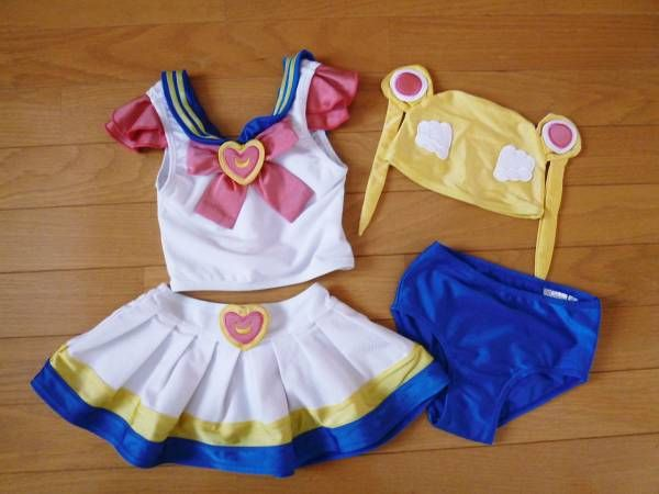 sailor moon bathing suit for baby!!