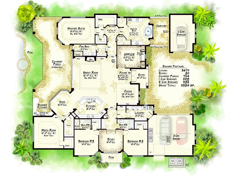 225 best home plans images on Pinterest Floor plans Home