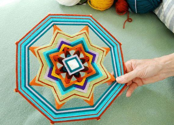 Ojo de Dios tutorial from Etsy's The Storque. Beautiful.