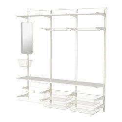 IKEA - ALGOT, Crémaillère/tablettes/barre
