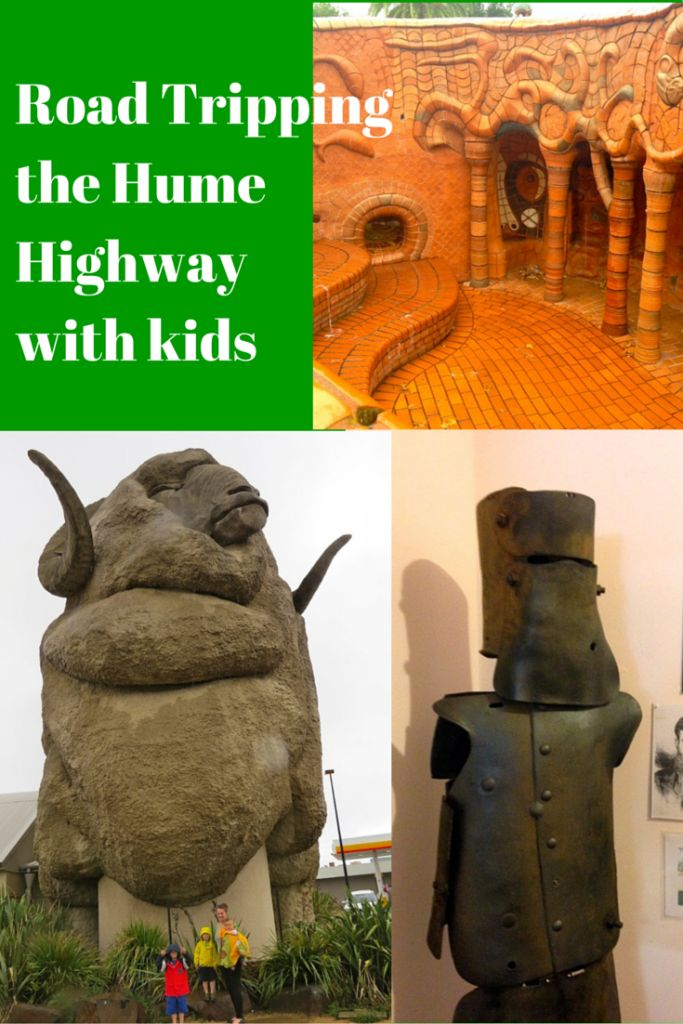 Road tripping the Hume Highway with kids.  Where to stop, eat and sleep.