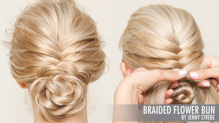 Braided Flower Bun / Sam Villa - Professionals