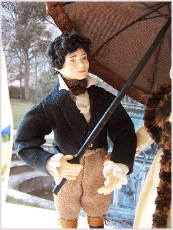 "Joseph, porcelain dollhouse doll :12th. Doll Handmade by "" Les Miniatures de Béatrice"""