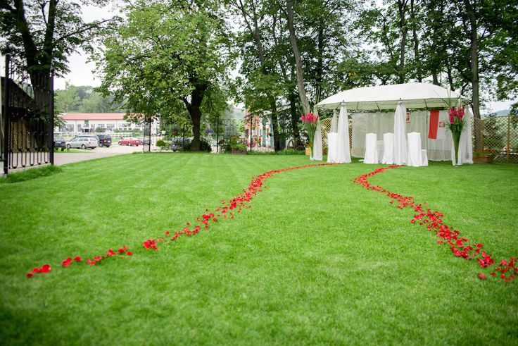 Karolina i Ernest - ślub w plenerze