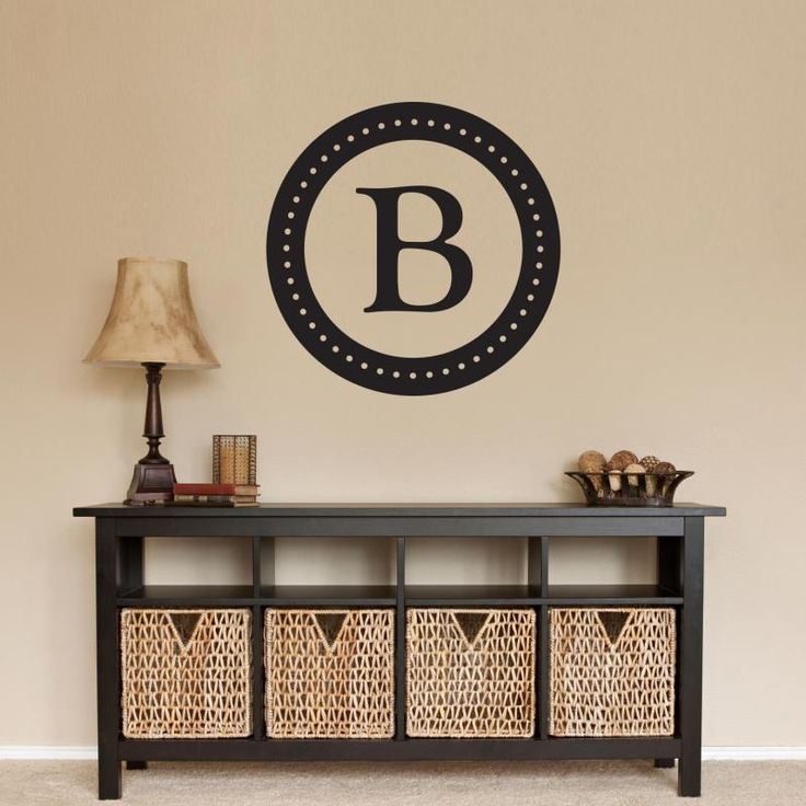 Best Decals Images On Pinterest Wall Stickers Headboards And - Monogram wall decals cheap