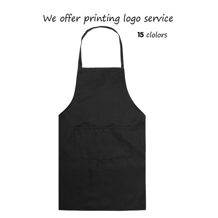 Retro Kitchen Apron Fashion Women Men Korean Apron Cooking Chef Hairdresser Waitress Aprons Custom Print Logo Gift Bib Wholesale