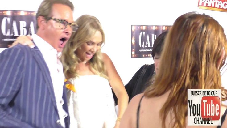 Carson Kressley, Kym Johnson and Jo Anne Worley at the Opening Of Cabare...