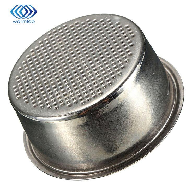 Siver Máquina de Café 2 Taza de acero Inoxidable de 51mm No Presurizados cesta Del Filtro