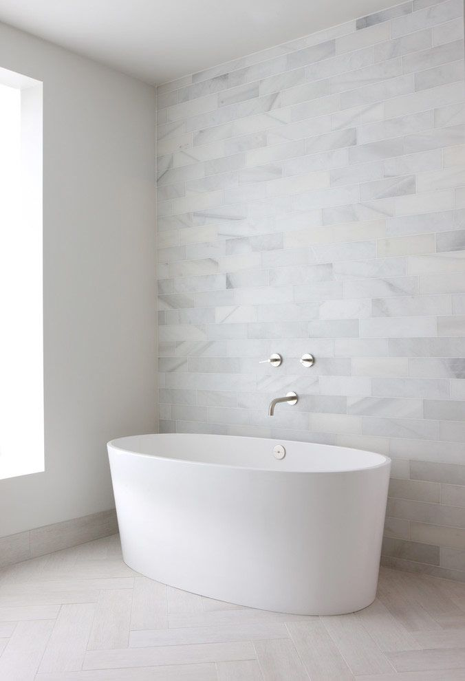 pinned by barefootstyling.com 22 exempel på ovanligt vackert kakel till badrummet - Sköna hem
