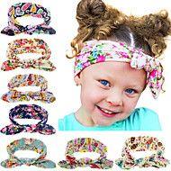 8 χρώματα / σετ μόδας bebe μωρό κορίτσι dot κόμπος κορδέλα νεογέννητο βρέφος αξεσουάρ για τα μαλλιά των παιδιών λαστιχάκια για τα μαλλιά – EUR € 18.24