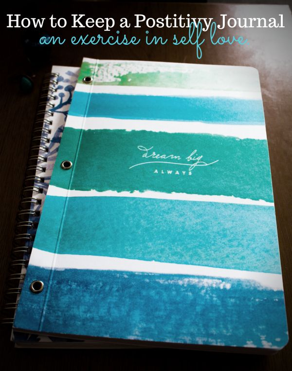 Keeping a positivity journal is a fantastic way to show yourself love and treat yourself right! If you want to know how to get started, check out www.mostlymorgan.com!