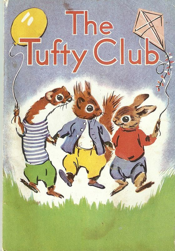 """""""The Tufty Club"""", RoSPA. c. 1962. Illustrated by Marcia Lane Foster."""
