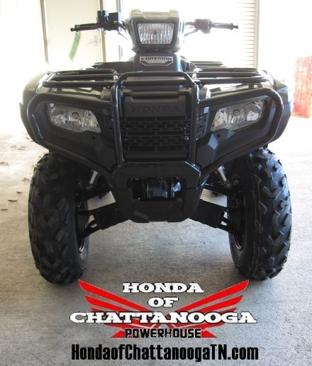 2014 Foreman 500 4x4 ATV Sale at Honda of Chattanooga / Your GA AL TN ATV Dealer offering some of the Lowest & Best Honda Foreman 500 Sale Prices around.  www.HondaofChattanoogaTN.com  This model is the 2014 Foreman / TRX500FM1E which is the Manual / Foot Shift model with the Semi Automatic Clutch so you do NOT have a clutch.  Contact Kevin at Honda of Chattanooga in TN before you buy your 2014 500 Foreman anywhere and get our current 2014 Honda ATV Sale Prices.