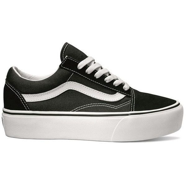 Vans Old Skool Platform ( 65) ❤ liked on Polyvore featuring shoes ... 1b7ca42e5f707