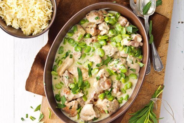 A recept, amivel mindig sikert aratsz! Hozzávalók: 70 dkg csirkecomb (csontozott) 4 gerezd fokhagyma 2 evőkanál liszt 40 dkg zöldborsó 1 dl főzőtejszín 3 evőkanál[...]