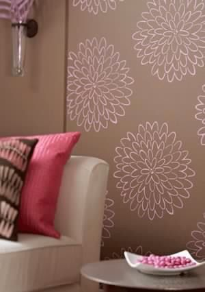 Plain walls are boring. Love this! Choose from 50+colours  Http.//ericah.uppercaseliving.net