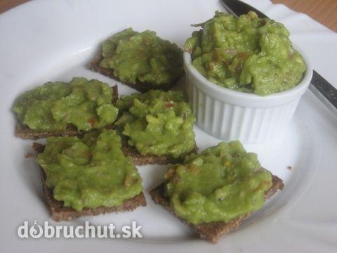 Fotorecept: Mexické guacamole