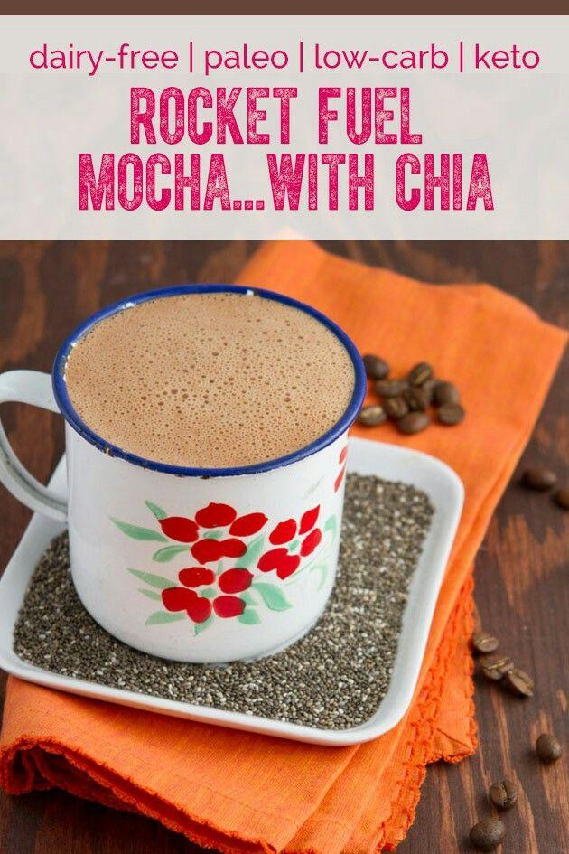 HEALTHY Mocha Coffee #yeastfree #sugarfree #dairyfree but NOT #tastefree