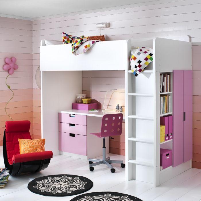 Duas zonas numa só. #quartos #crianças #decoração #IKEAPortugal