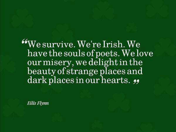We are Irish.