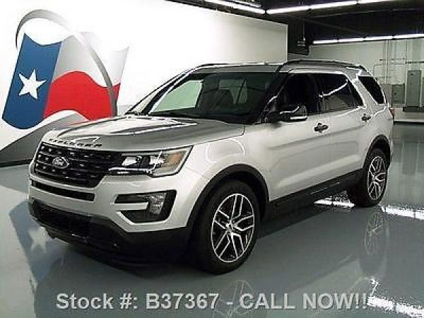 Ford: Explorer SPORT ECOBOOST 4WD LEATHER NAV 2016 ford explorer sport ecoboost 4 wd leather nav 19 k b 37367 texas direct auto