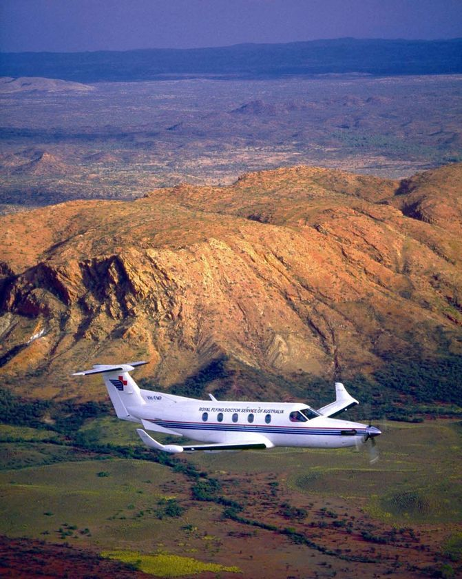 Royal Flying Doctor Service - An aeromedical health service for those who live, work or travel in outback and regional Australia.