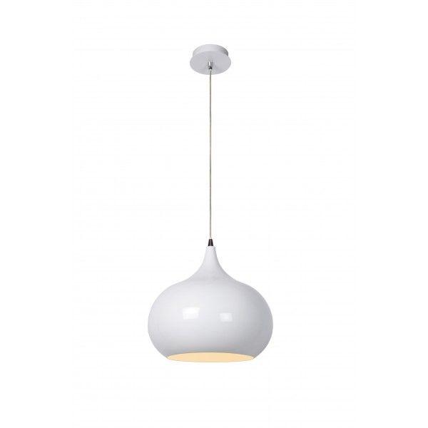 Riva D33 cm - Lucide - kolor biały
