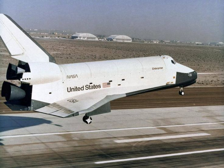 """NASA - Space Shuttle """"Enterprise"""" (OV-101) Successfully Completed its 5th and Final Free Flight Final Approach and Landing Test - 26 October 1977"""
