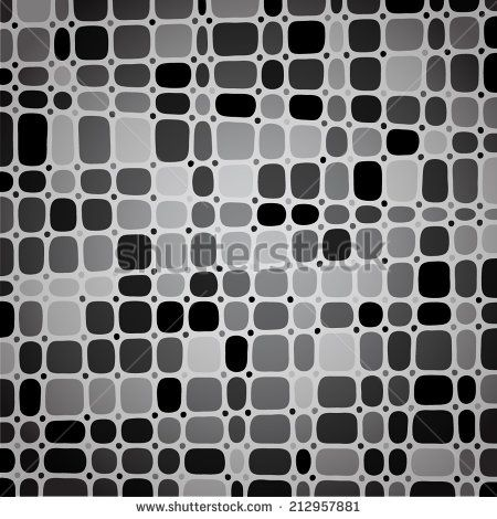 Mosaic background. Vector illustration. - stock vector