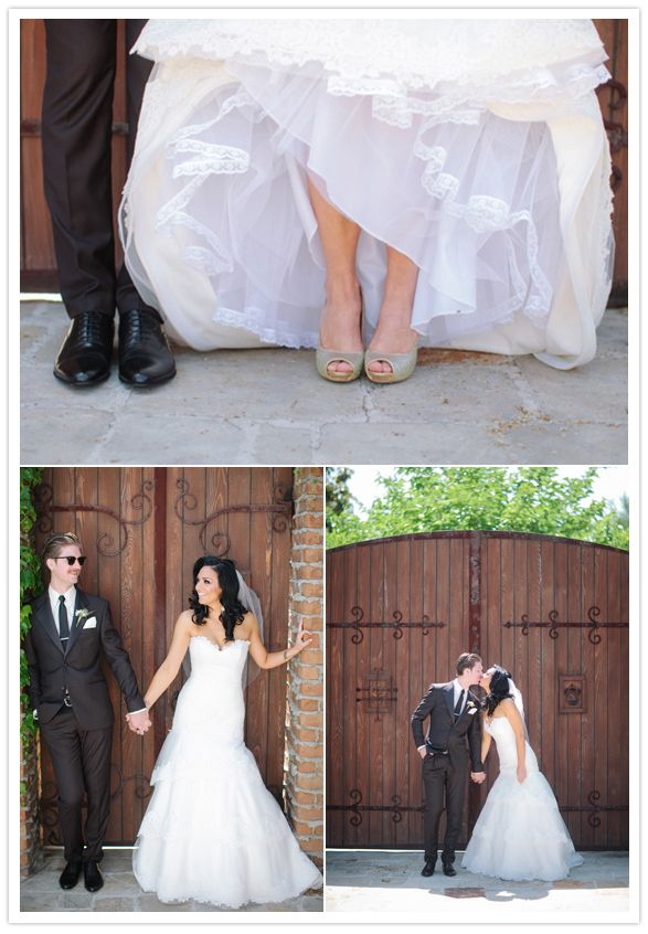 Bride and Groom. Tara Keely Wedding Gown style #TK2052. Troy Grover Photographers    http://www.jlmcouture.com/Tara-Keely/Bridal/Additional/Style-2052