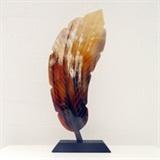 Sculpture Carved Leaf