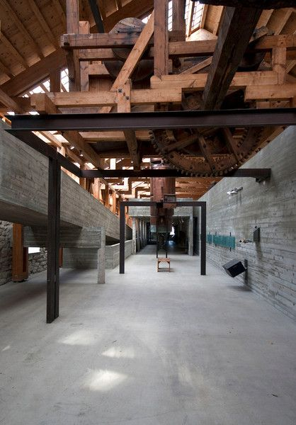 Hamar Bispegaard Museum, Sverre Fehn *inspirasi buat renov gudang