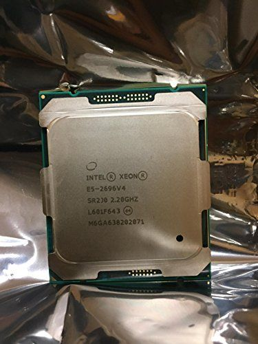 1910 H/s CPU Monero Miner - INTEL XEON 22 CORE PROCESSOR E5-2699V4 2.2GHZ 55MB SMART CACHE 9.6 GT/S QPI TDP 145W