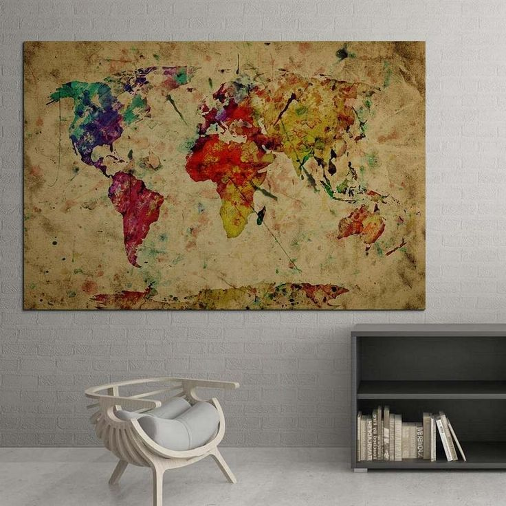 Printed Canvas Map 17,00 €