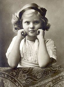 Princess Theodora of Greece and Denmark (13 May 1906--16 Oct.1969), 2nd child of Princess Alice of Greece and Denmark, nee of Battenberg.  Theodora was the 2nd oldest sister of Prince Philip.  Theodora, like her 3 sisters, married a German prince and was in Germany during WWII.  At war's end there were such raw feelings that Theodora and her sisters couldn't attend Philip's 1947 wedding to Princess Elizabeth of York.  Theodora and her husband, Berthold, Margrave of Baden, had 3 children.