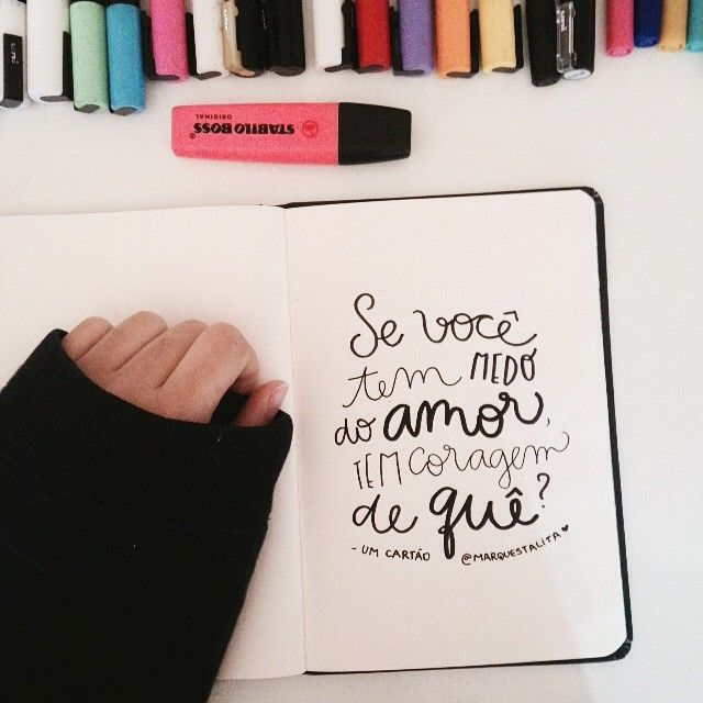 Se você tem medo do amor tem coragem de quê? MADDIE