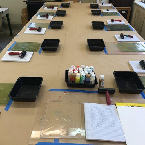 printmaking studio organization - Google Search