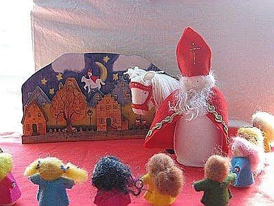 Atelier de Vier Jaargetijden: Sinterklaas